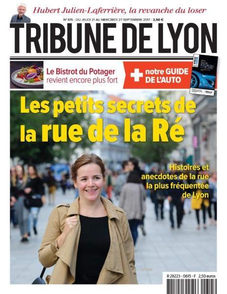 Tribune De Lyon — 21 Au 27 Septembre 2017