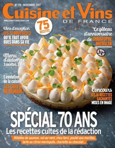 Cuisine Et Vins De France — Novembre 2017
