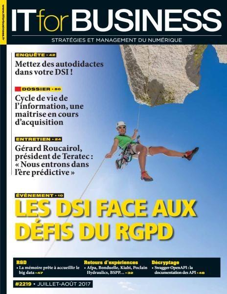 IT For Business — Juillet-Août 2017