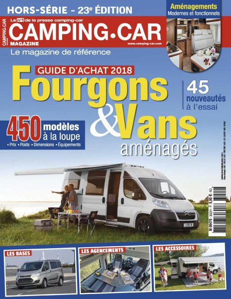 camping car magazine hors s rie novembre 2017 t l charger pdf magazine gratuitement. Black Bedroom Furniture Sets. Home Design Ideas
