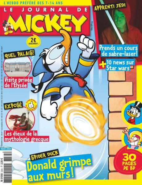 Le Journal De Mickey — 3 Mai 2017