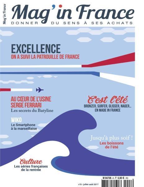 Mag In France – Juillet-Août 2017