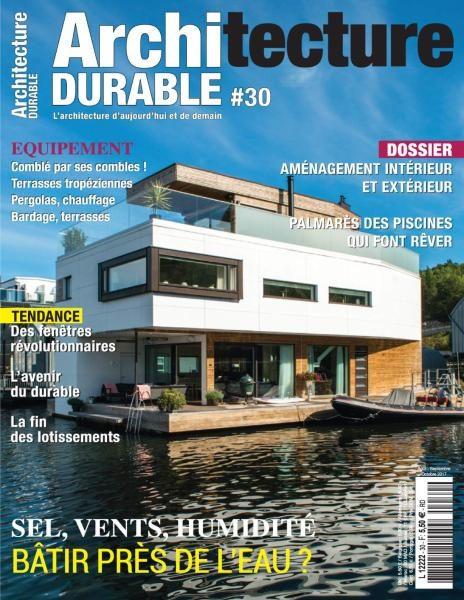 Architecture Durable — Août-Octobre 2017