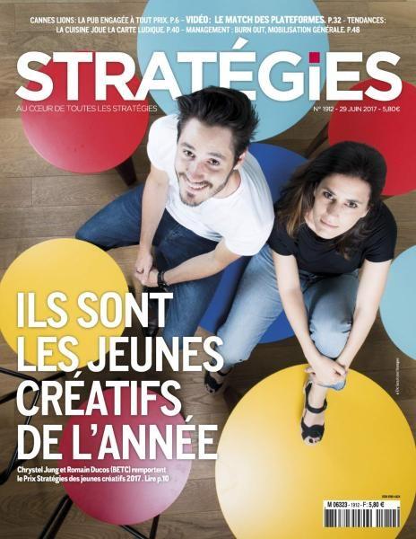 Stratégies – 29 Juin 2017
