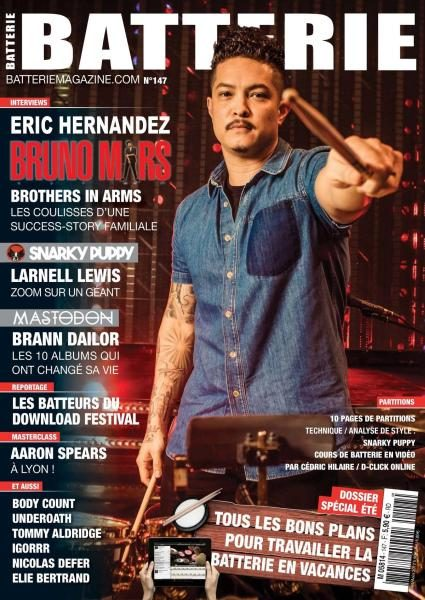 Batterie Magazine N.147 — Juillet-Août 2017