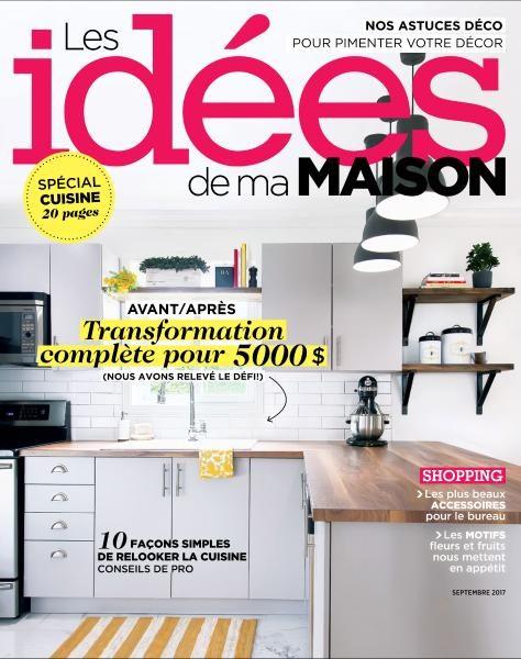Les Idees De Ma Maison — Septembre 2017 Télécharger Pdf Magazine