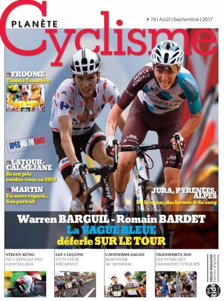 Planete Cyclisme N.74 — Aout-Septembre 2017