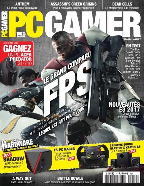PC Gamer France — Juillet-Août 2017