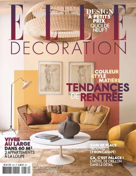 Elle Décoration France — September 2017