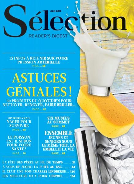 Sélection Reader's Digest France N.829 — Juin 2017