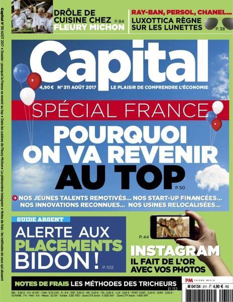 Capital France — Août 2017
