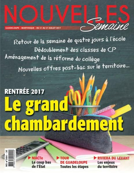 Nouvelles Semaine — 21 Au 27 Juillet 2017