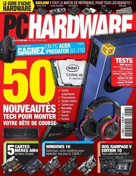 PC Hardware — Juillet-Août 2017