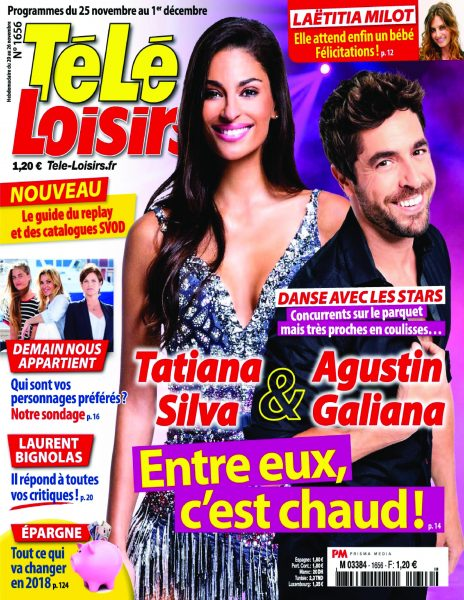 Télé Loisirs — 20 Novembre 2017