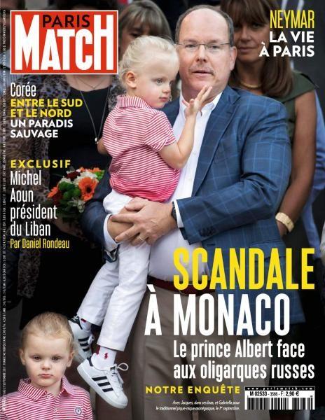 Paris Match — 21 Au 27 Septembre 2017