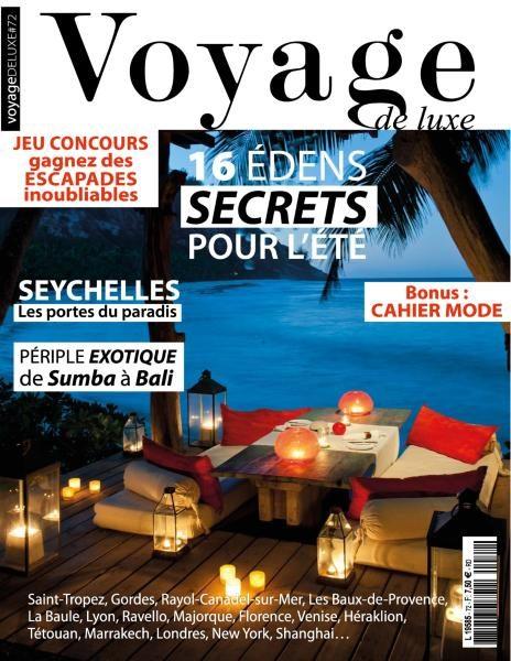Voyage De Luxe – N.72 2017