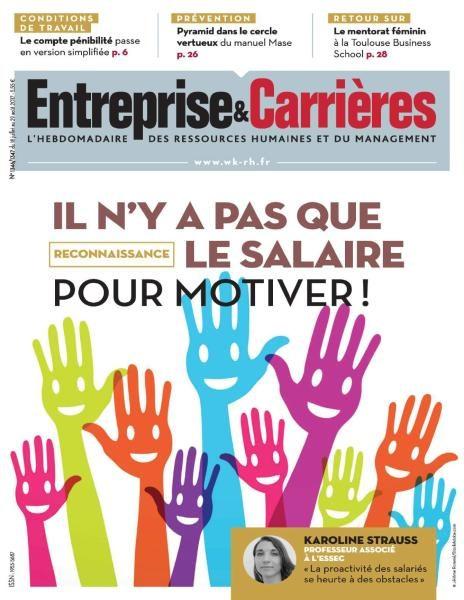 Entreprise & Carrières — 18 Juillet 2017
