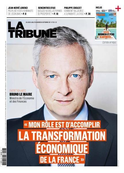 La Tribune — 6 Juillet Au 6 Septembre 2017