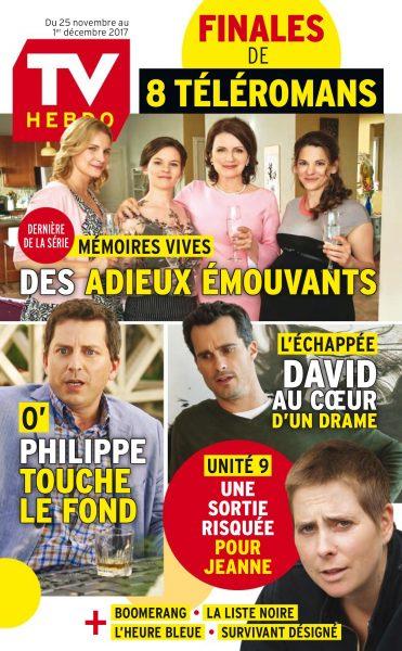 TV Hebdo — 25 Novembre 2017