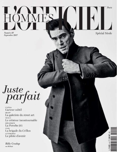 L'Officiel Hommes Paris — Septembre 2017