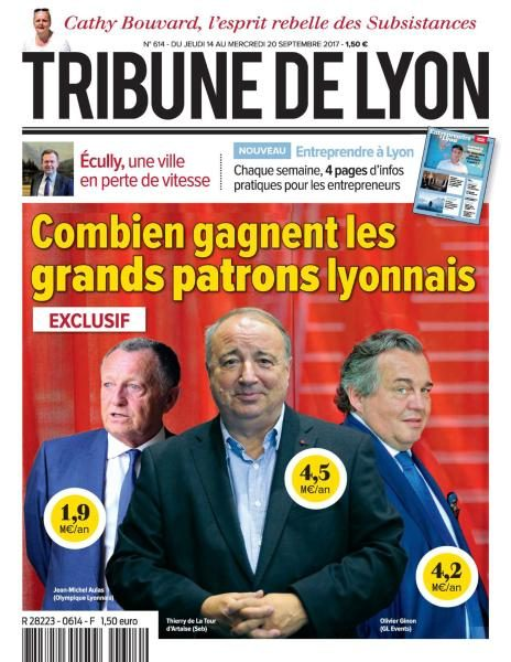 Tribune De Lyon — 14 Au 20 Septembre 2017
