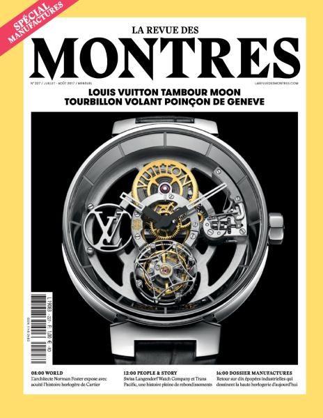 La Revue Des Montres – Juillet-Août 2017
