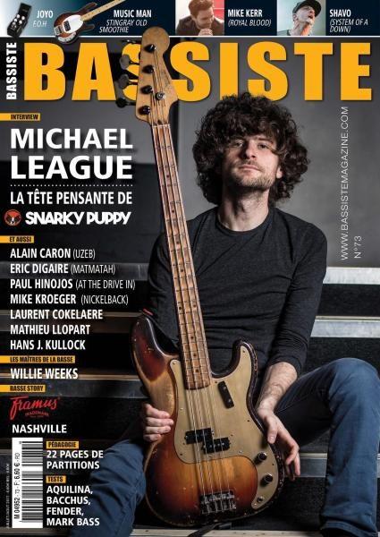Bassiste Magazine N.73 — Juillet-Août 2017