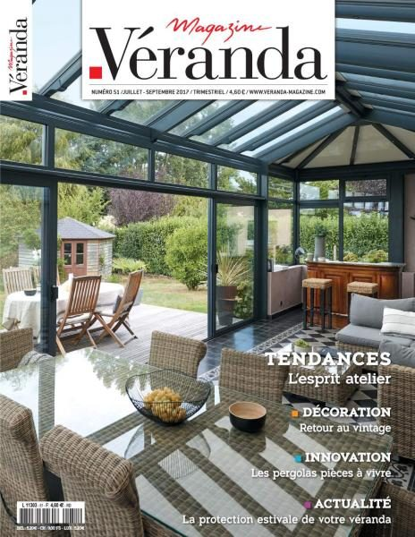 Veranda Magazine France – Juillet-Septembre 2017