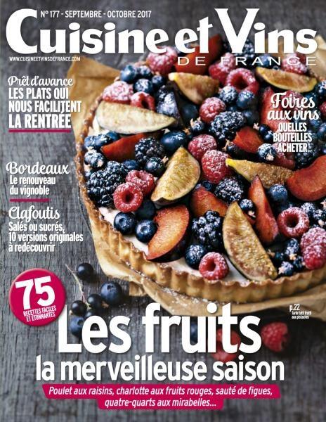 Cuisine Et Vins De France — Septembre-Octobre 2017