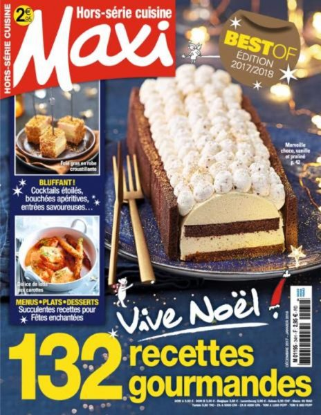 Maxi Hors-Série Cuisine — Décembre 2017 — Janvier 2018