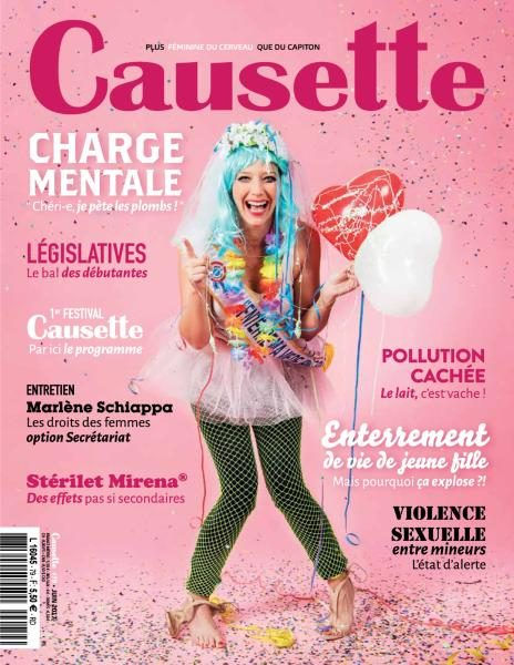Causette France — Juin 2017