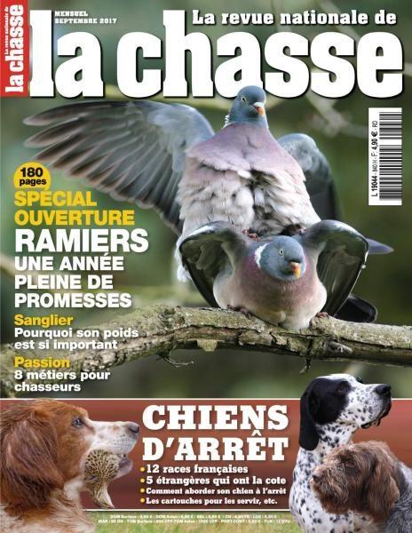 La Revue Nationale De La Chasse — Septembre 2017