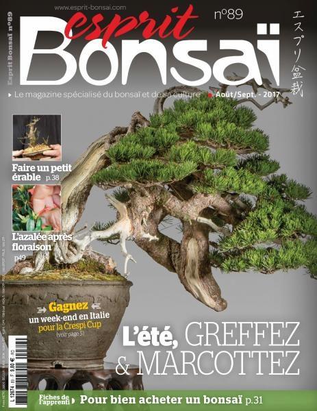 Esprit Bonsai France — Aout-Septembre 2017