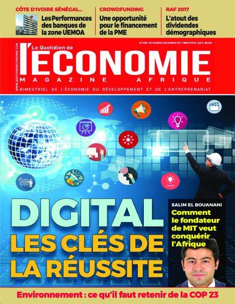 Le Quotidien De L'économie Magazine Afrique — 01 Décembre 2017