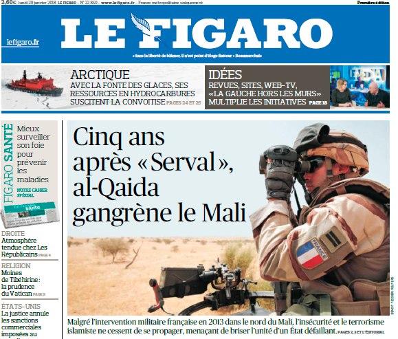 Le Figaro – 29.01.2018