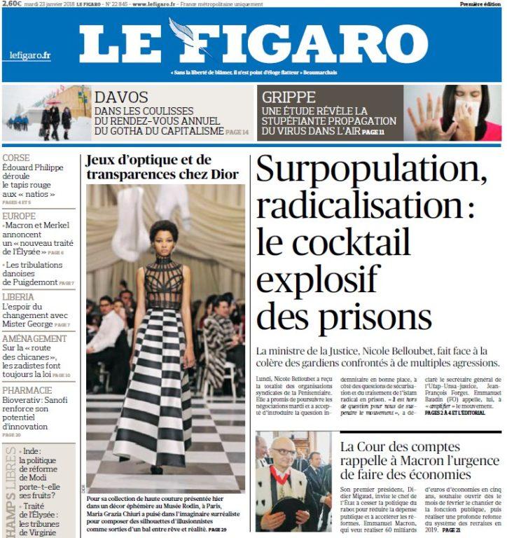 Le Figaro – 23.01.2018
