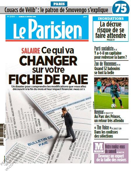 Le Parisien – 27.01.2018