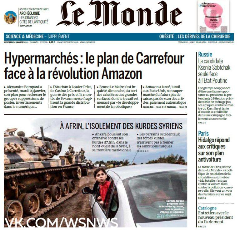 Le Monde – 24.01.2018