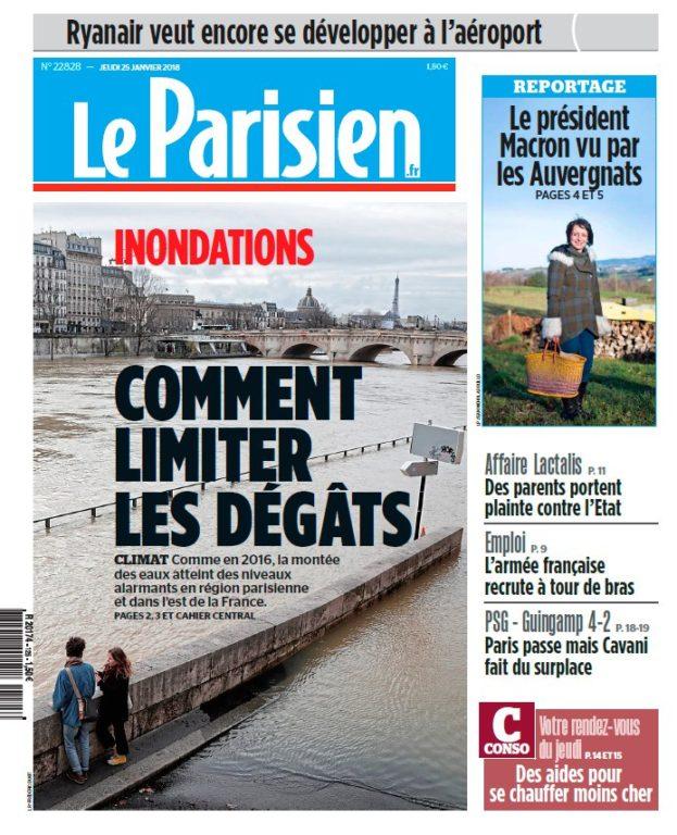 Le Parisien – 25.01.2018