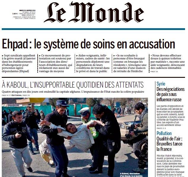 Le Monde – 30.01.2018