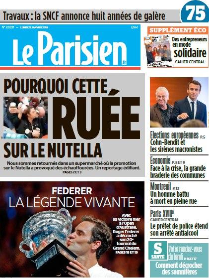 Le Parisien – 29.01.2018