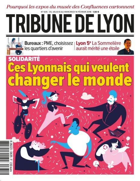 Tribune De Lyon — 08 Février 2018