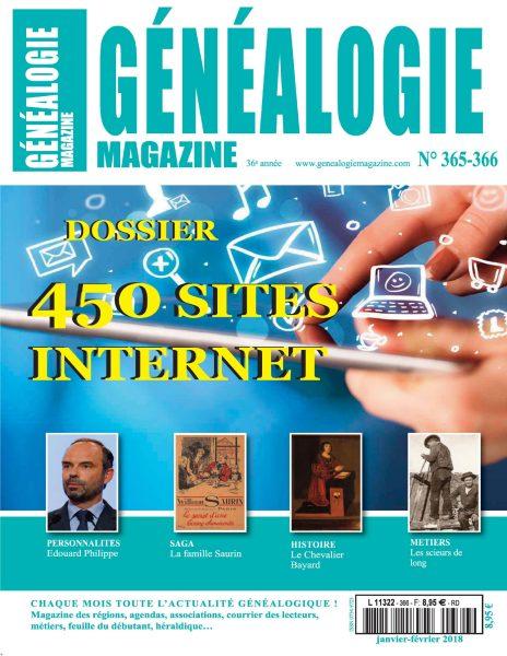 Généalogie Hors-Série — 07 Février 2018