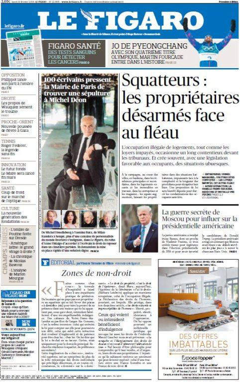 Le Figaro – 19.02.2018