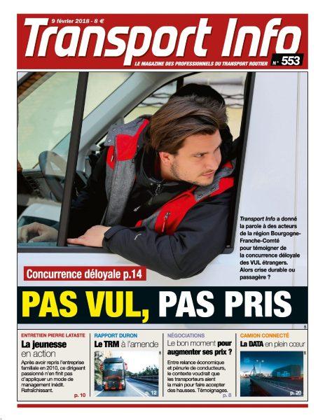 Transport Info Hebdo — Février 2018