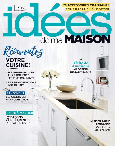 Les id es de ma maison mars 2018 t l charger pdf for Art et decoration magazine feuilleter