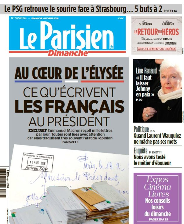 Le Parisien – 18.02.2018