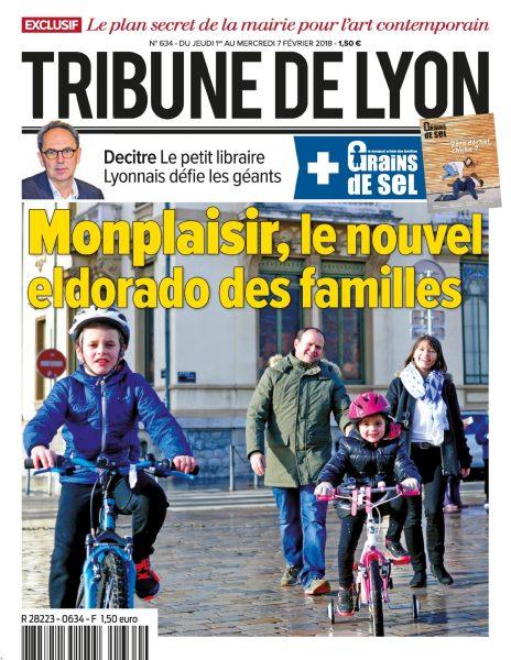 Tribune De Lyon — 01 Février 2018