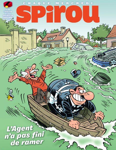 Le Journal De Spirou — 07 Février 2018