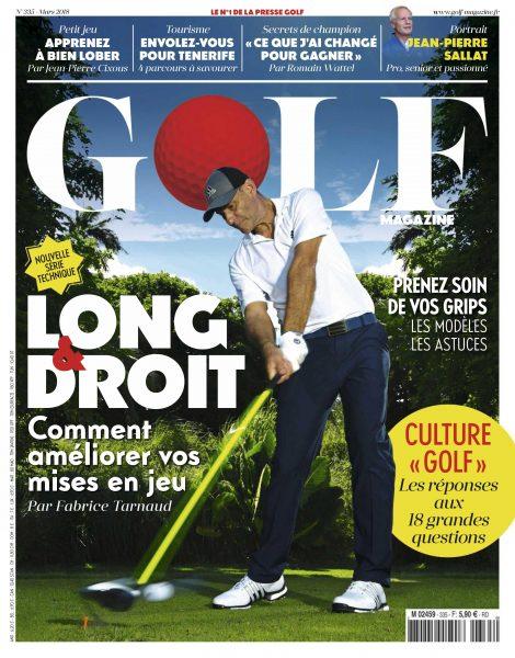 Golf Magazine France — Février 2018